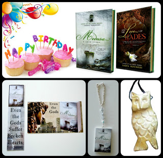 These are the fabulous items up for grabs.